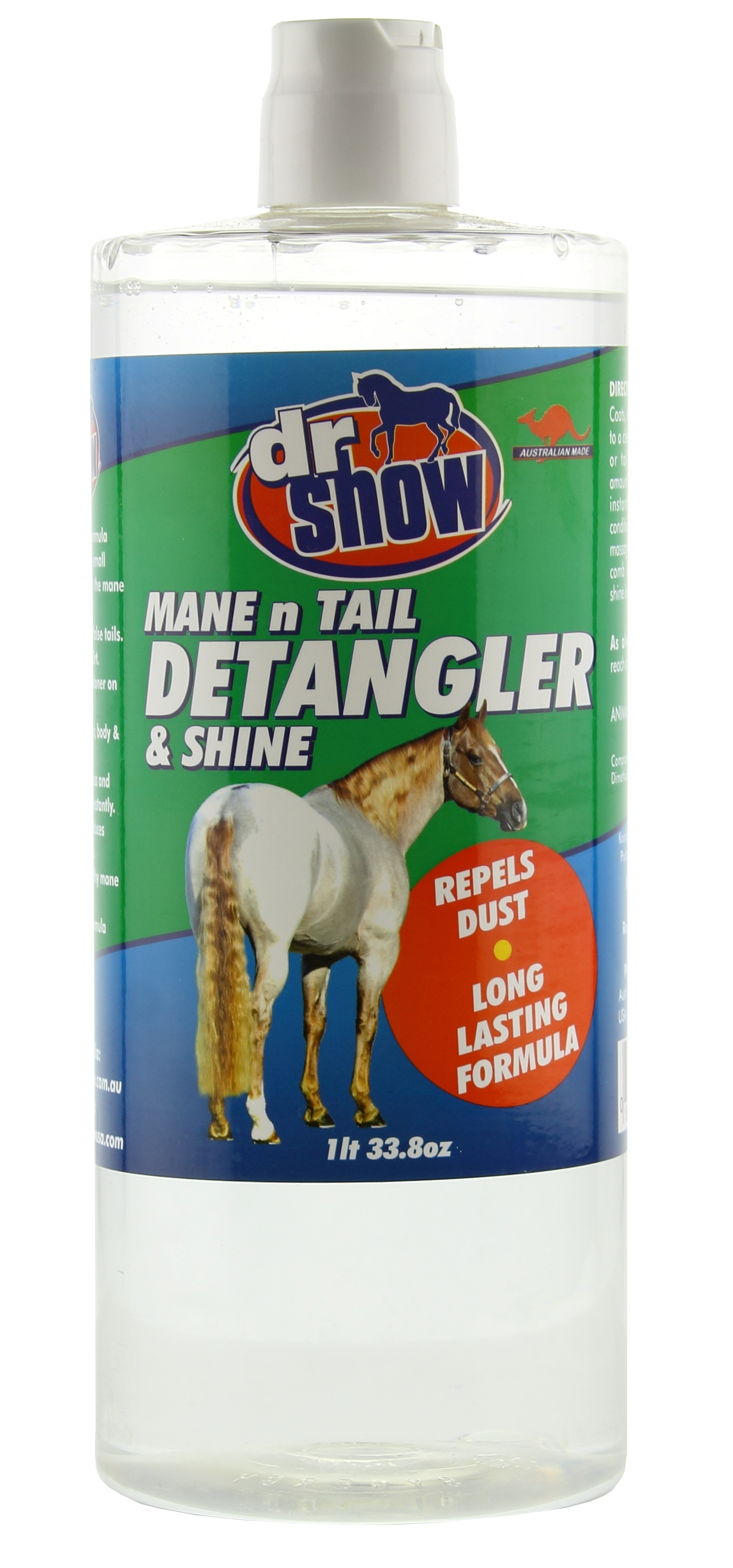 Dr Show Mane and Tail Detangler N Shine