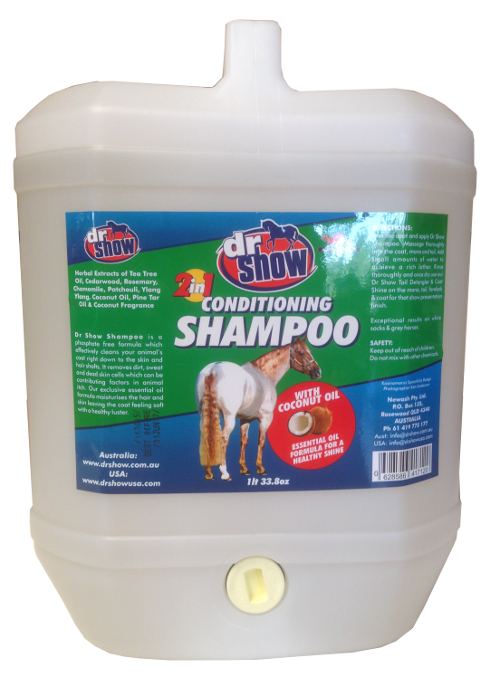 Dr Show Equine Shampoo All in One